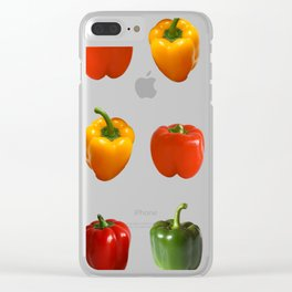 Sargent Pepper Club Clear iPhone Case
