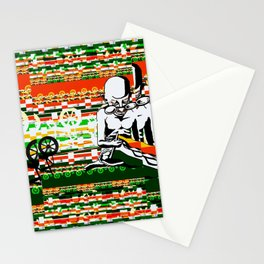 Ghandi and his Spinning Wheel Stationery Cards