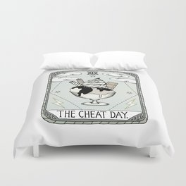 The Cheat Day Duvet Cover