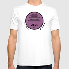 Cutesy Crawlies — Spider Mens Fitted Tee White SMALL
