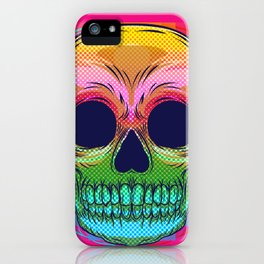 skull colors  iPhone Case