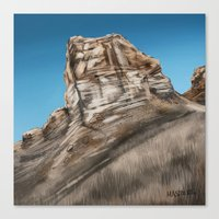 utah Canvas Prints featuring Utah by Liz Masters