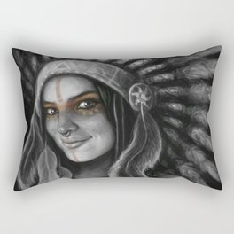 Tribe Girl Rectangular Pillow