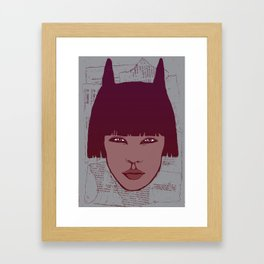 Kathy Framed Art Print