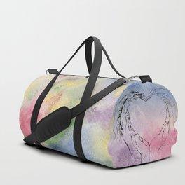 We Share One Heart Duffle Bag