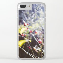 Kissed by the Sun, I Clear iPhone Case