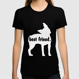 Boston Terrier BEST FRIEND Dog LOVERS Dog Breeds Love My Boston Terrier Personalized Gift Loyal Dog T-shirt