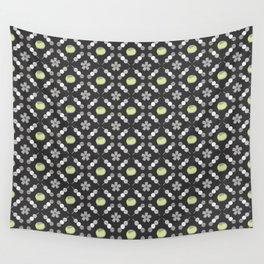 Hanami Nummies   Black Matcha Wall Tapestry