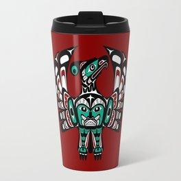 Northwest Pacific coast Haida art Thunderbird Travel Mug