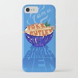 Pork Cutlet Bowl Fatale iPhone Case