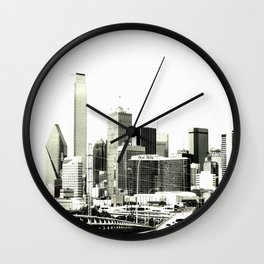 The Dallas storyline Wall Clock