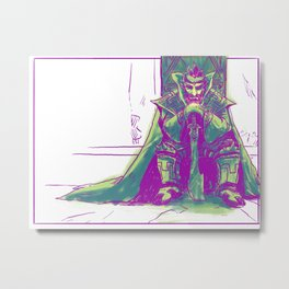 The Gerudo King Metal Print
