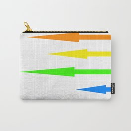Rainbow of Arrows Carry-All Pouch