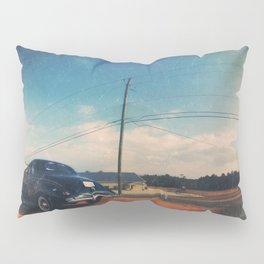 Roadside Classic - America As Vintage Album Art Pillow Sham