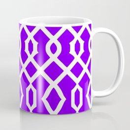 Grille No. 3 -- Indigo Coffee Mug