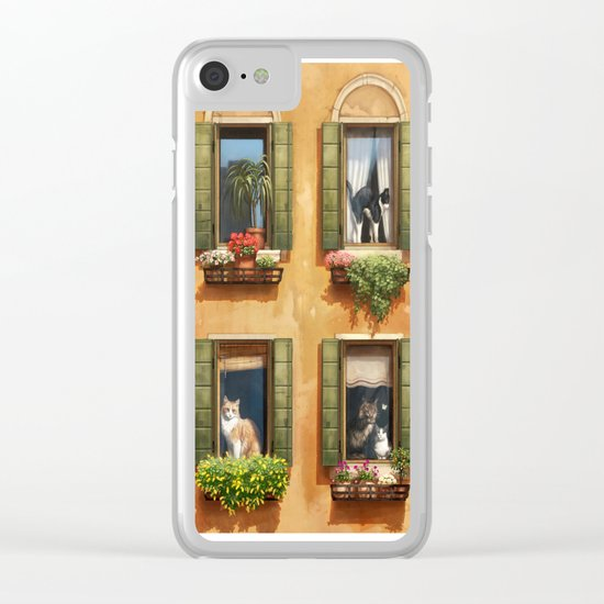 The Sunny Spot Clear iPhone Case
