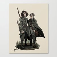 thrones Canvas Prints featuring Crannogmen - Game of Thrones by Munkel
