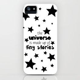 Tiny Stories iPhone Case