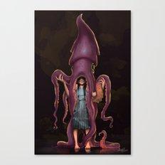 Squid Gir Canvas Print