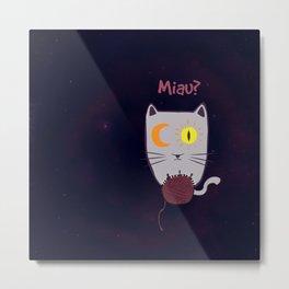 Miau? Metal Print