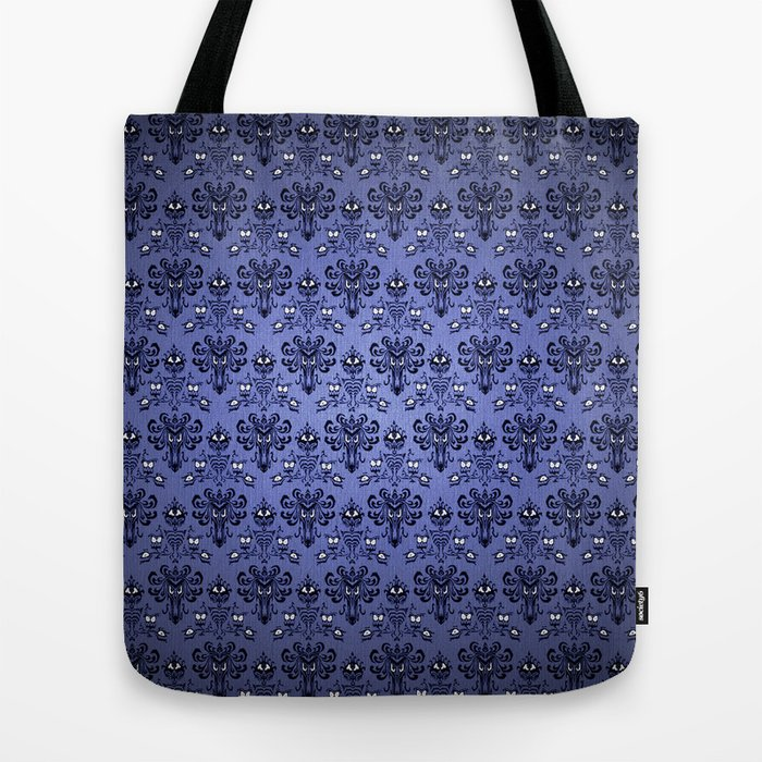 Haunted Mansion Stretching Portraits Hobo Style Tote  Bag  Trick or Treat