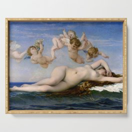 "Alexandre Cabanel ""The Birth of Venus"" (1863) Serving Tray"