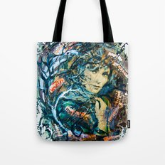 the woman's face #2 Tote Bag
