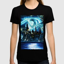 Starry Night Hogwarts T-shirt