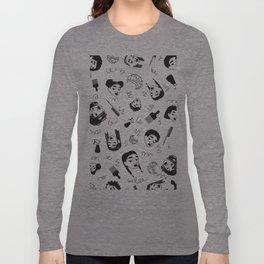 Curl Pattern Long Sleeve T-shirt