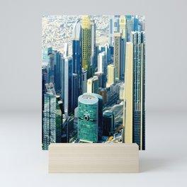 Dubai cityscape Mini Art Print