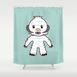 Abominable Yeti Shower Curtain