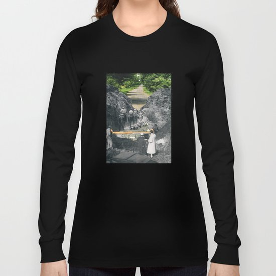 Don't Be Afraid, Expand Your Horizons Long Sleeve T-shirt
