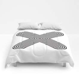 Letter X Comforters