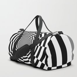 Sliced Circle Target Duffle Bag