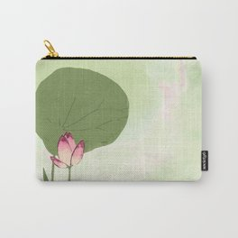 Survive like a lotus flower, rising from the muc Carry-All Pouch