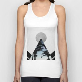 Tropical Mountain Unisex Tank Top