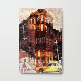 Rythm of a New York street Metal Print