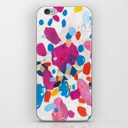 Fuchsia Physics iPhone Skin
