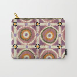 Pastel Tiles Carry-All Pouch