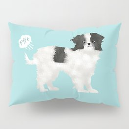 japanese chin farting dog cute funny dog gifts pure breed dogs Pillow Sham