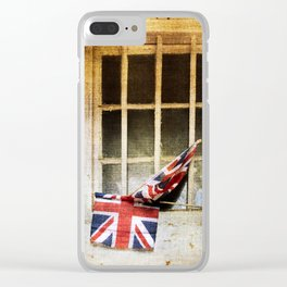 Union Jack, Union Flag Clear iPhone Case