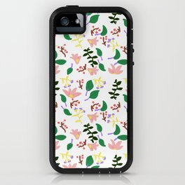 Might As Well Be Spring Pattern (Fixed) iPhone Case