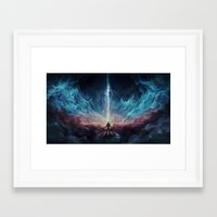 interstellar Framed Art Prints featuring Interstellar by jasric
