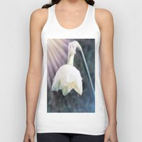 the shining Tank Tops featuring Shining Light by Lynn Bolt
