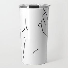 Skinflint Middle Finger Boner Travel Mug