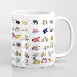 72 Frogs Coffee Mug