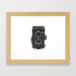 Vintage Camera (Yashica  124 G) Framed Art Print