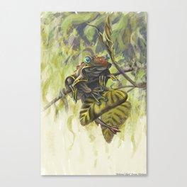 Arboreal Skate Canvas Print