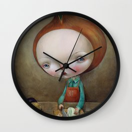 Cippolino Wall Clock