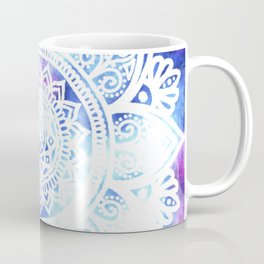 Purple and Blue Tied-Dye Mandala - LaurensColour Coffee Mug